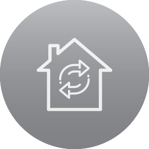 Mortgage Refinance Icon
